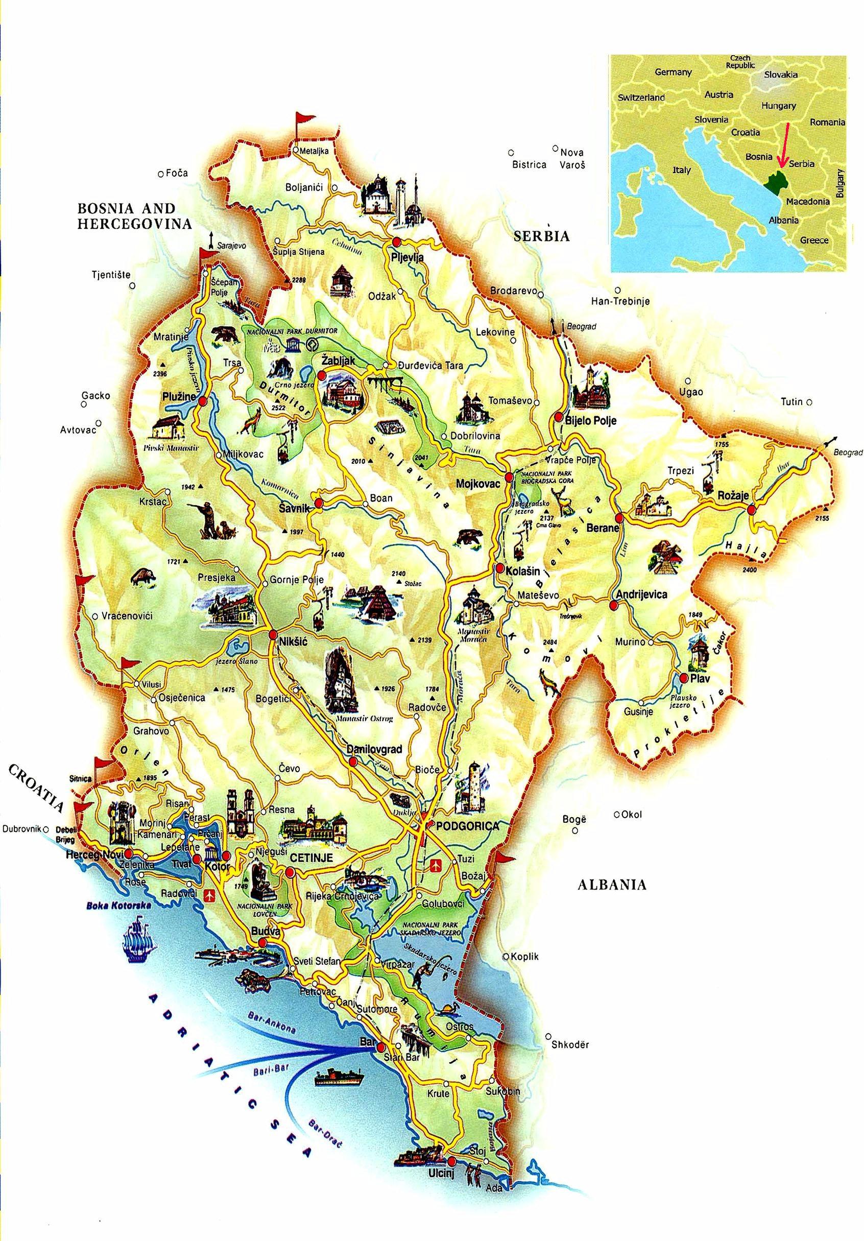 Sejur Muntenegru